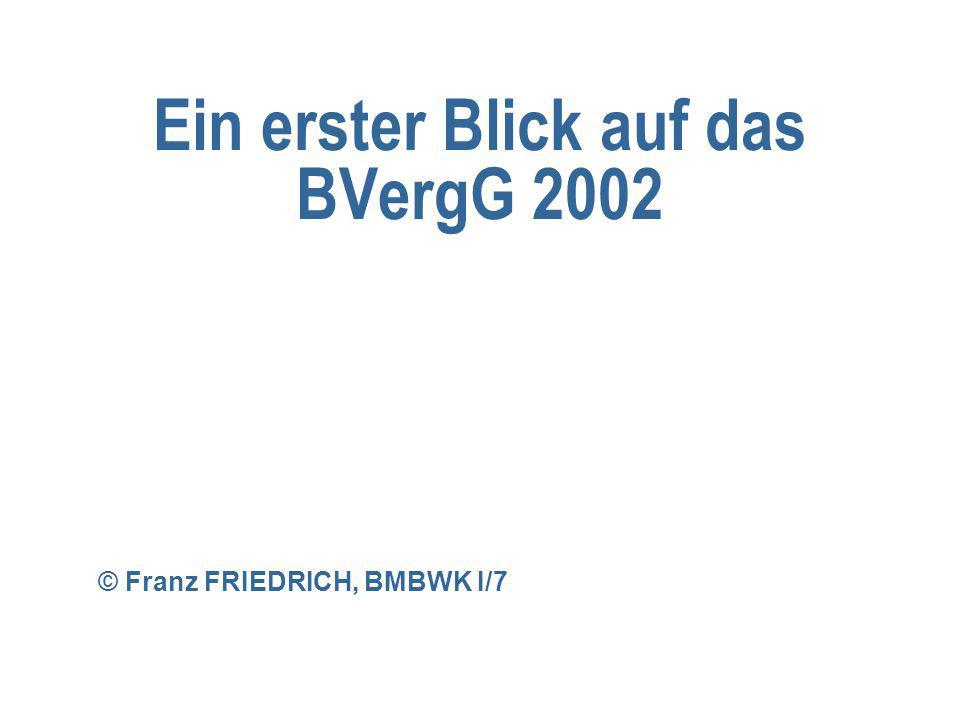 Ein erster Blick auf das BVergG 2002