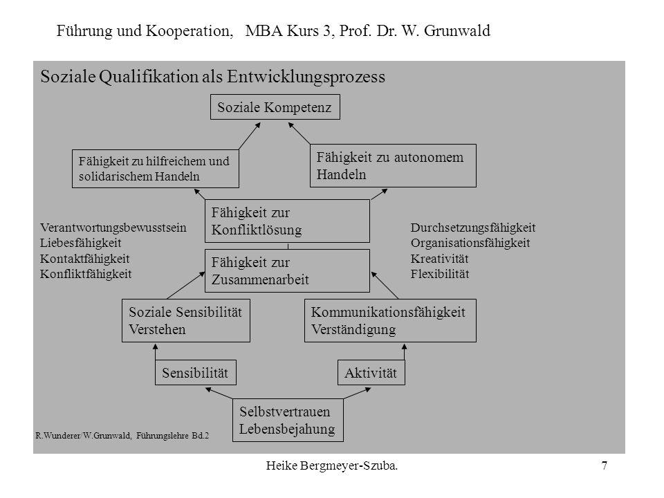 Soziale Qualifikation als Entwicklungsprozess