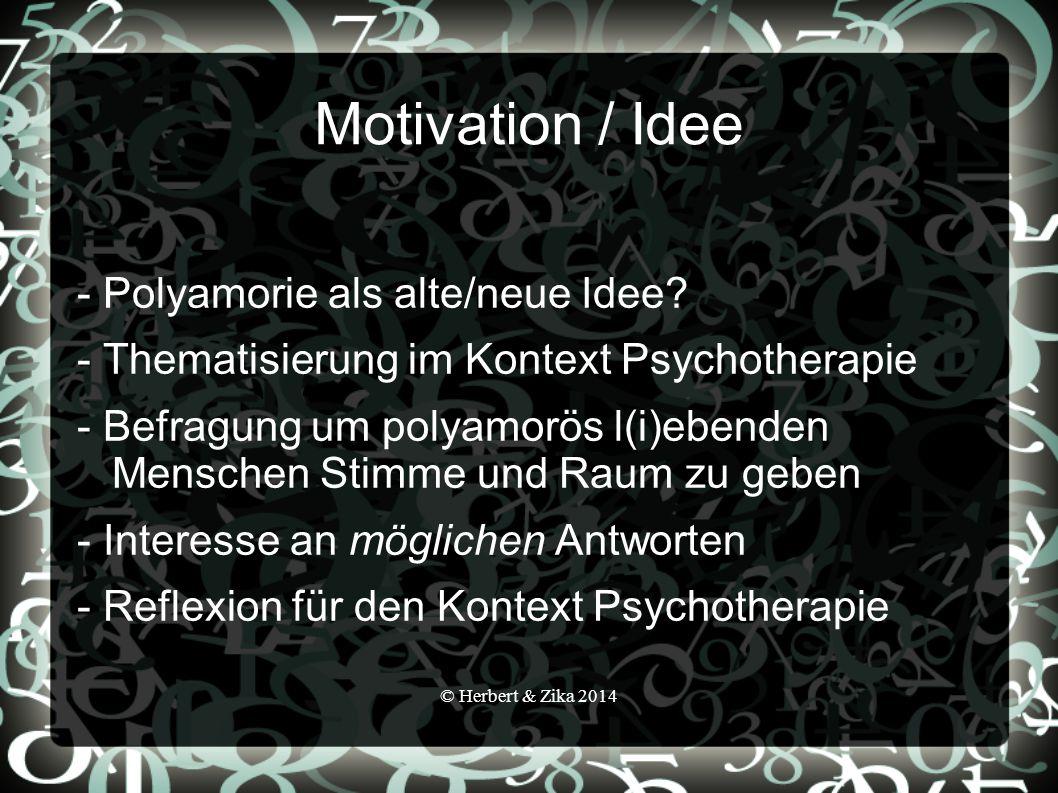 Motivation / Idee - Polyamorie als alte/neue Idee