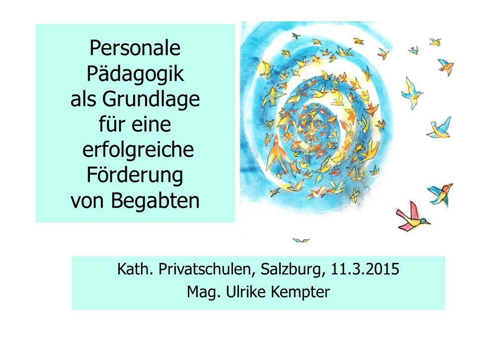 Kath. Privatschulen, Salzburg, 11.3.2015