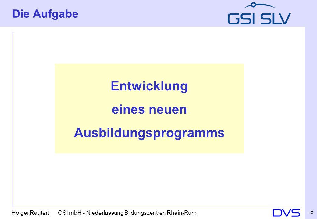 Ausbildungsprogramms