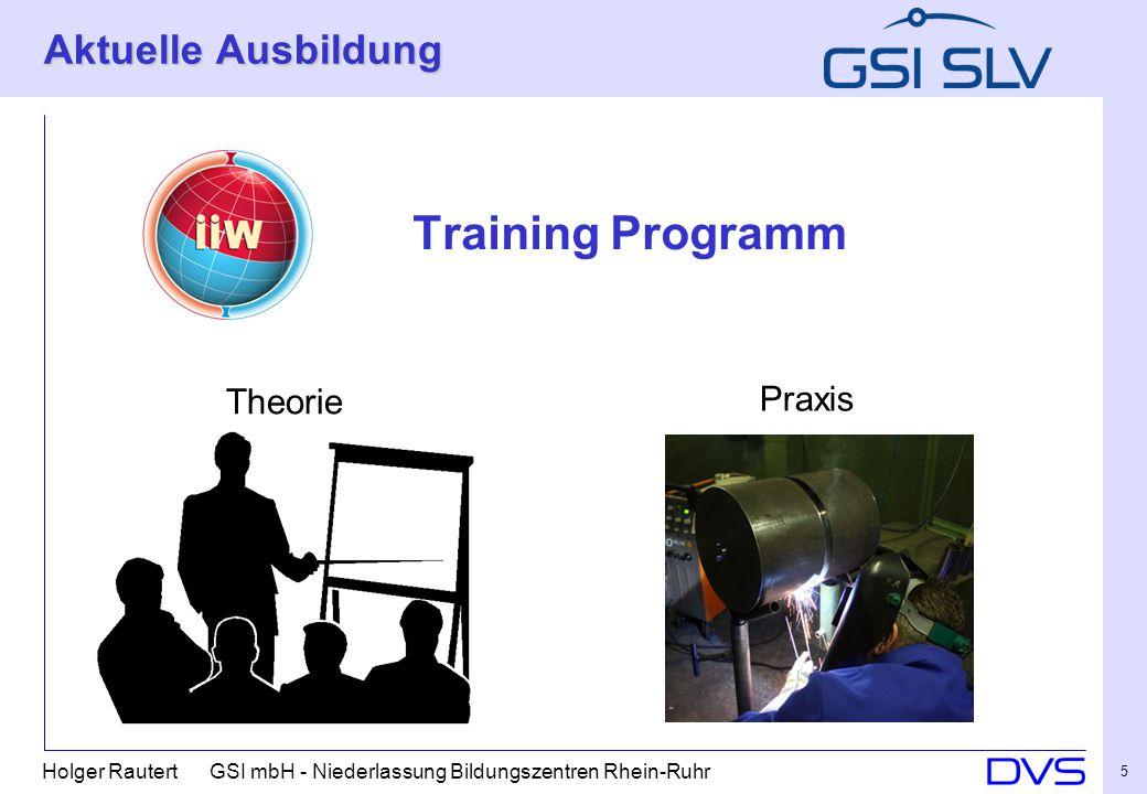 Aktuelle Ausbildung Training Programm Theorie Praxis 5