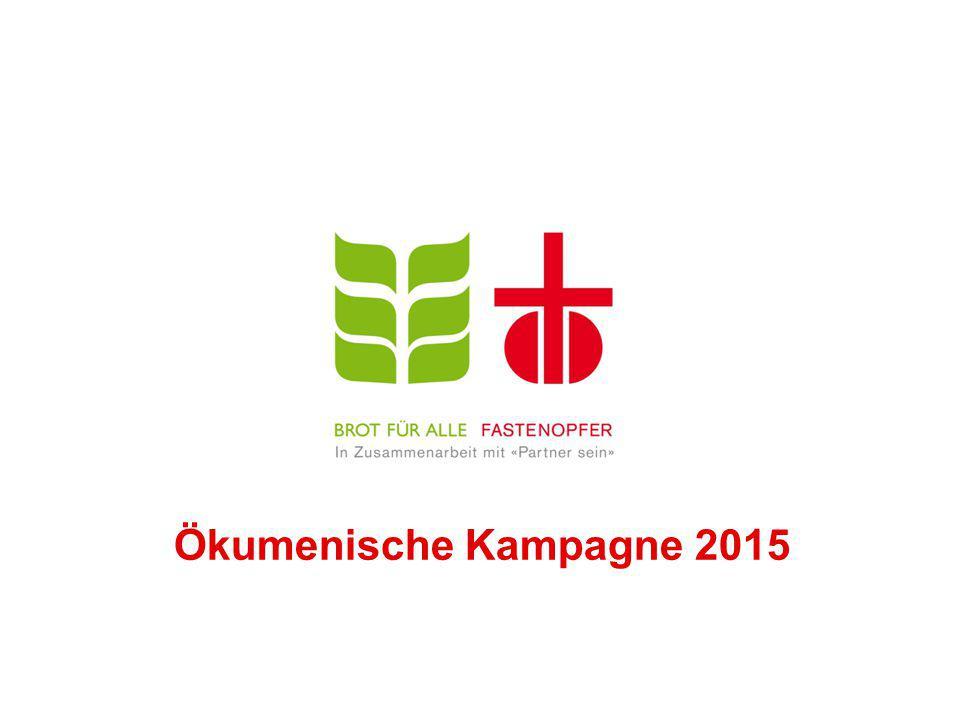 Ökumenische Kampagne 2015
