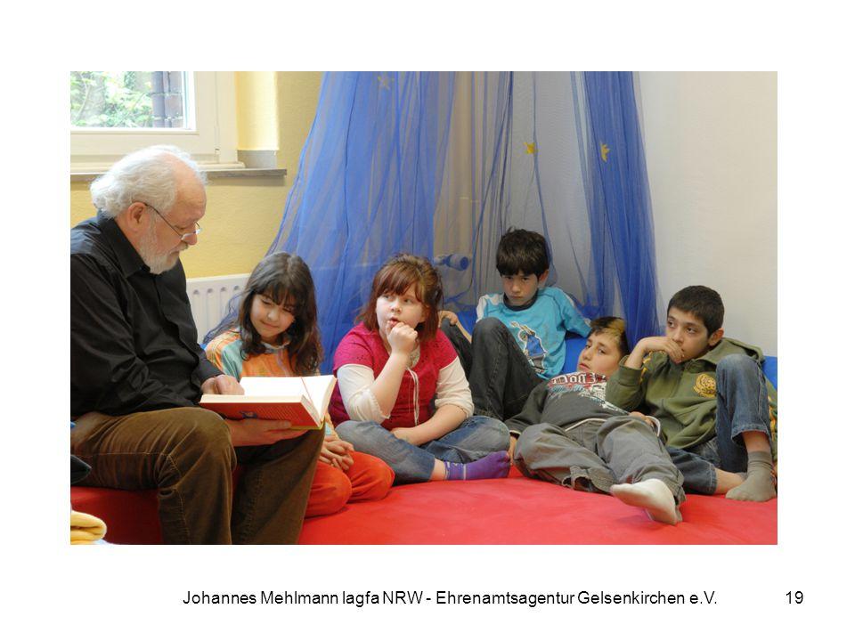 Johannes Mehlmann lagfa NRW - Ehrenamtsagentur Gelsenkirchen e.V.
