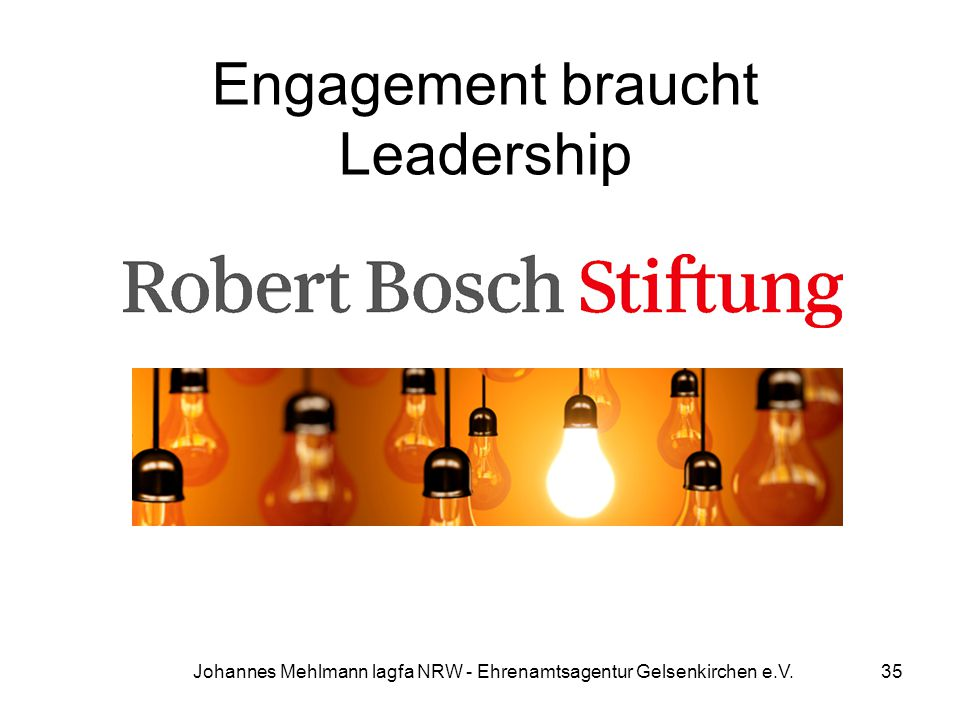 Engagement braucht Leadership
