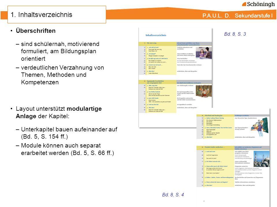 1. Inhaltsverzeichnis Überschriften