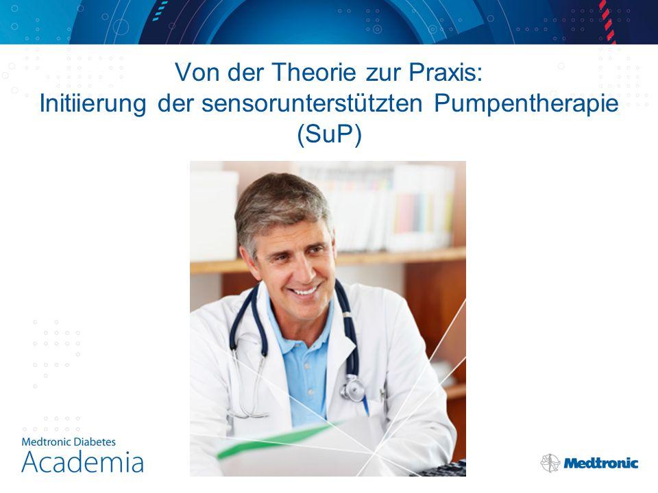 Von der Theorie zur Praxis: Initiierung der sensorunterstützten Pumpentherapie (SuP)