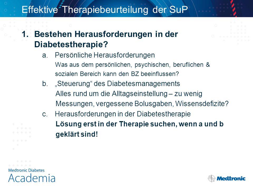 Effektive Therapiebeurteilung der SuP