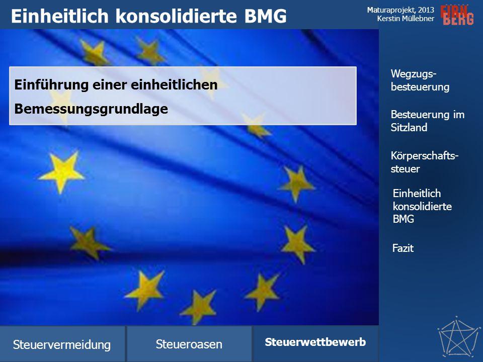 Einheitlich konsolidierte BMG