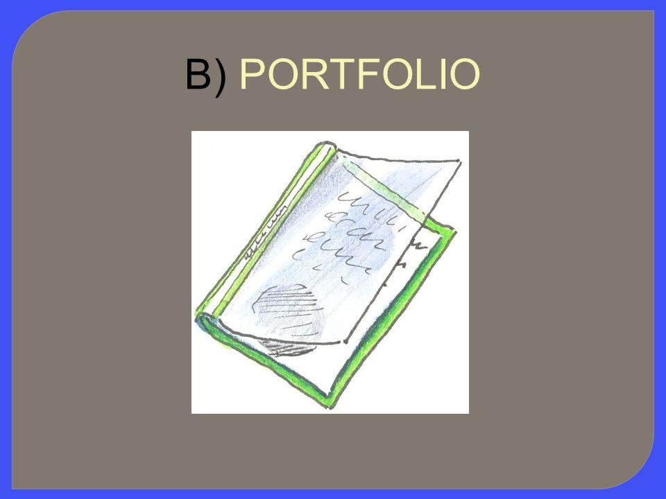 B) PORTFOLIO