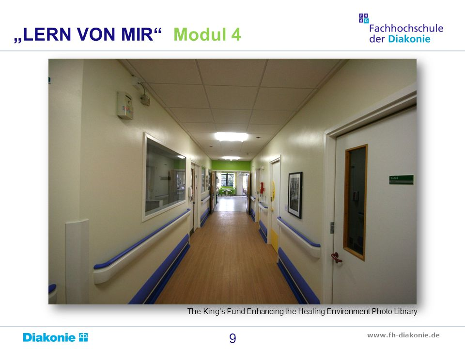 """LERN VON MIR Modul 4 The King's Fund Enhancing the Healing Environment Photo Library"