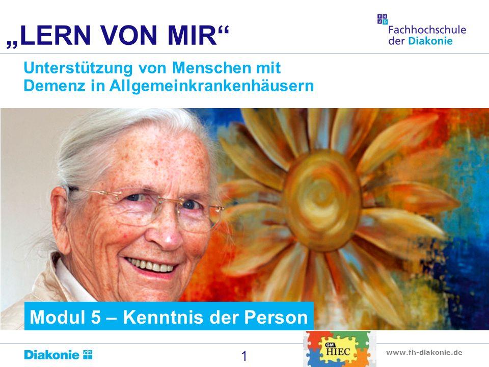 """""""LERN VON MIR Modul 5 – Kenntnis der Person"""