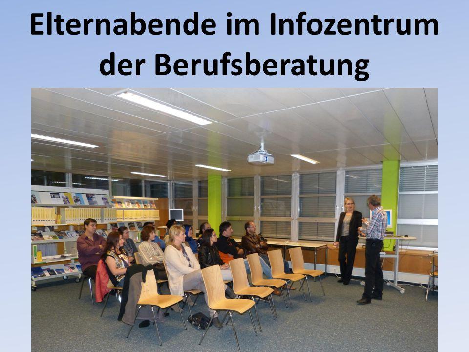 Elternabende im Infozentrum der Berufsberatung