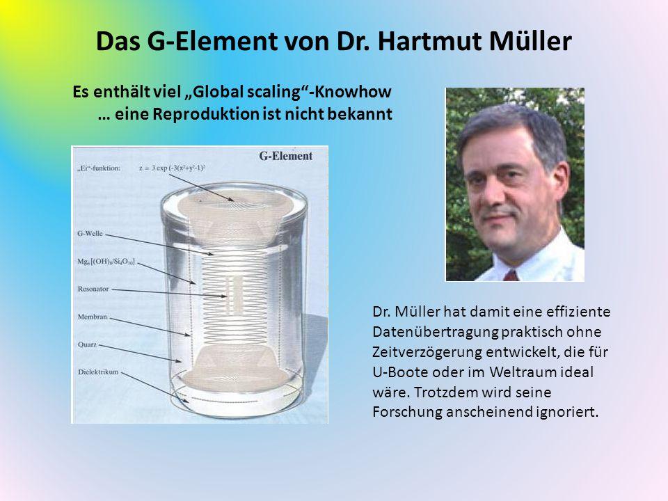 Das G-Element von Dr. Hartmut Müller