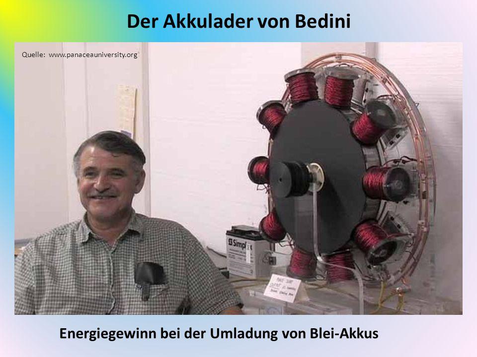 Der Akkulader von Bedini