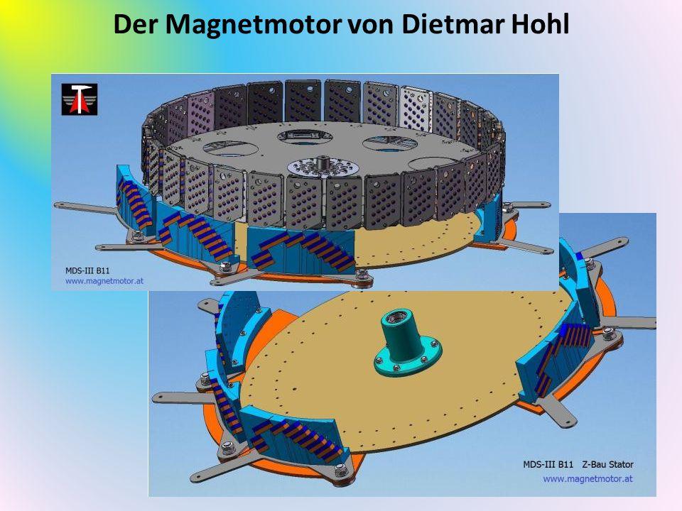 Der Magnetmotor von Dietmar Hohl