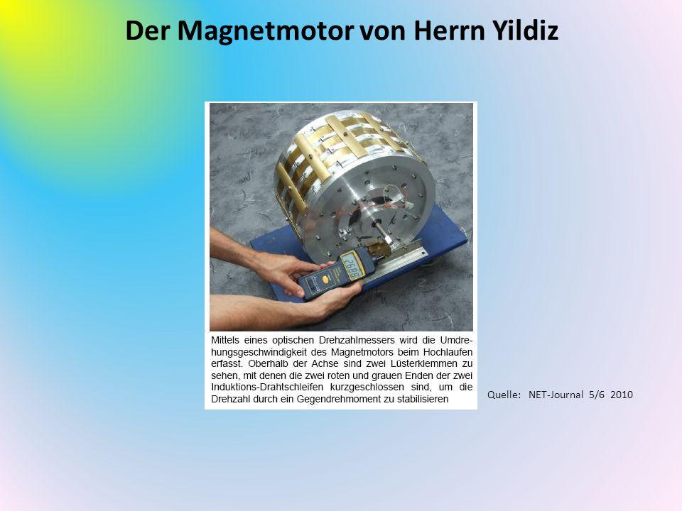 Der Magnetmotor von Herrn Yildiz