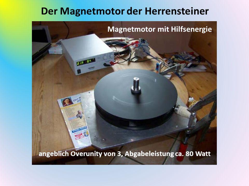Der Magnetmotor der Herrensteiner