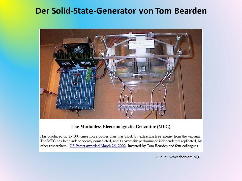 Der Solid-State-Generator von Tom Bearden