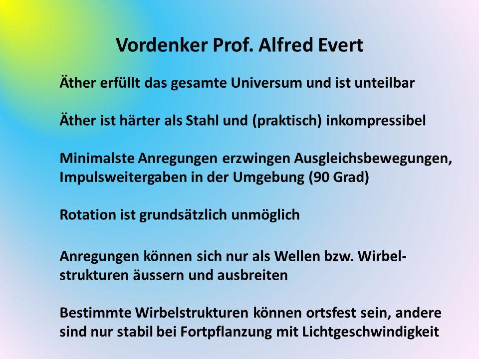 Vordenker Prof. Alfred Evert