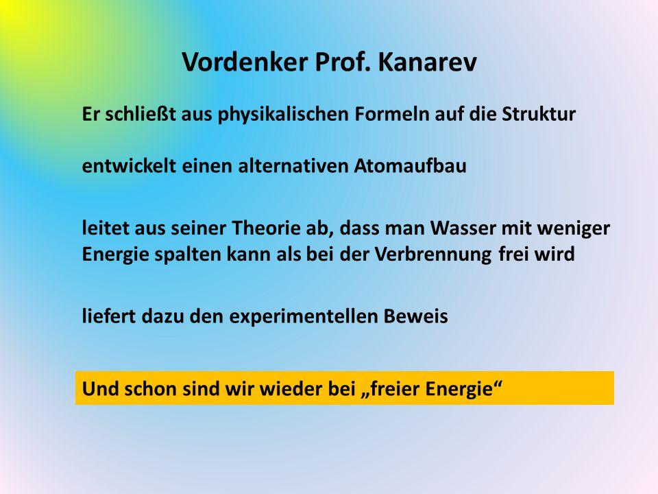 Vordenker Prof. Kanarev