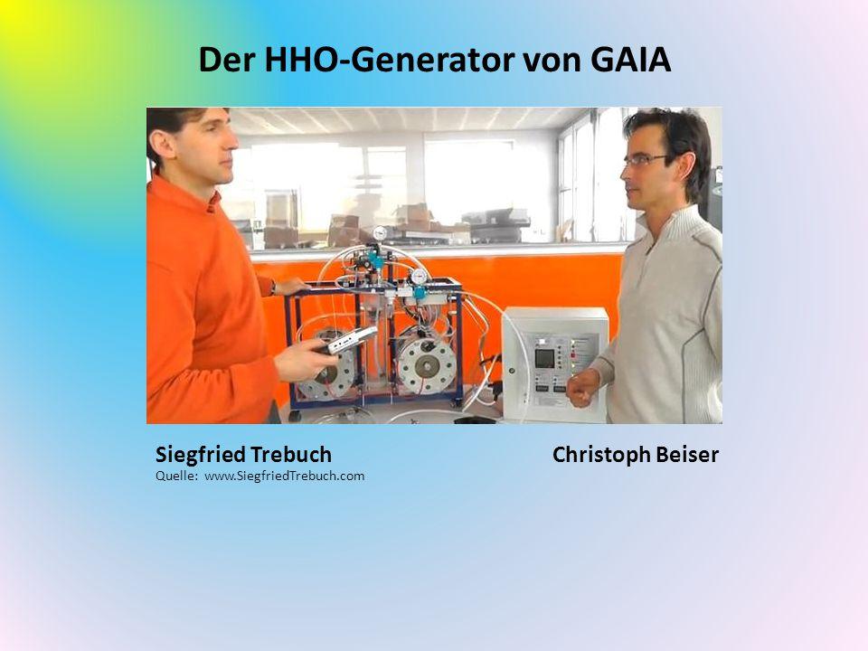 Der HHO-Generator von GAIA