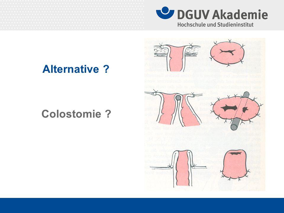 Alternative Colostomie
