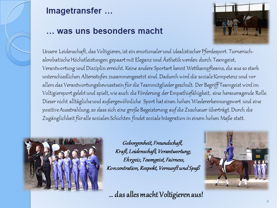 Imagetransfer … … was uns besonders macht