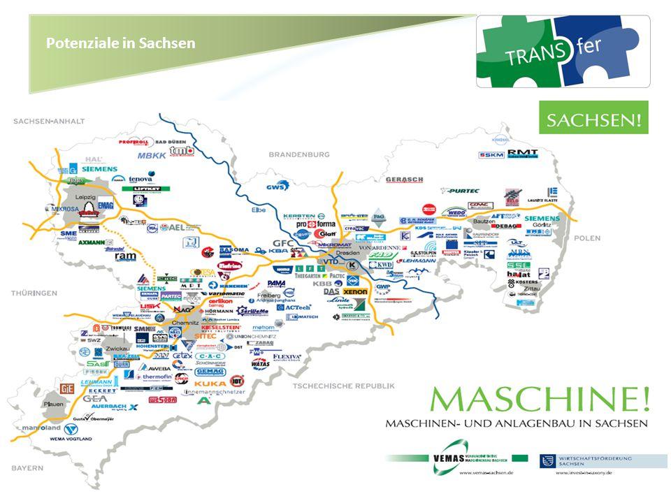 Potenziale in Sachsen Sensibilisierung der Region für grenzüberschreitenden Innovationstransfer -