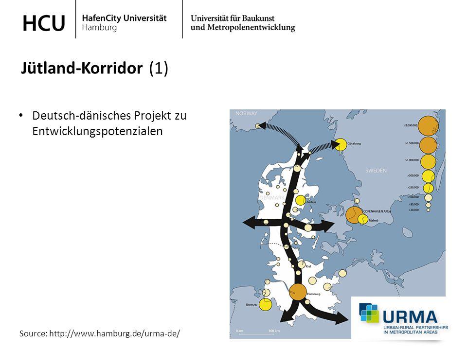 Jütland-Korridor (1) Deutsch-dänisches Projekt zu Entwicklungspotenzialen.