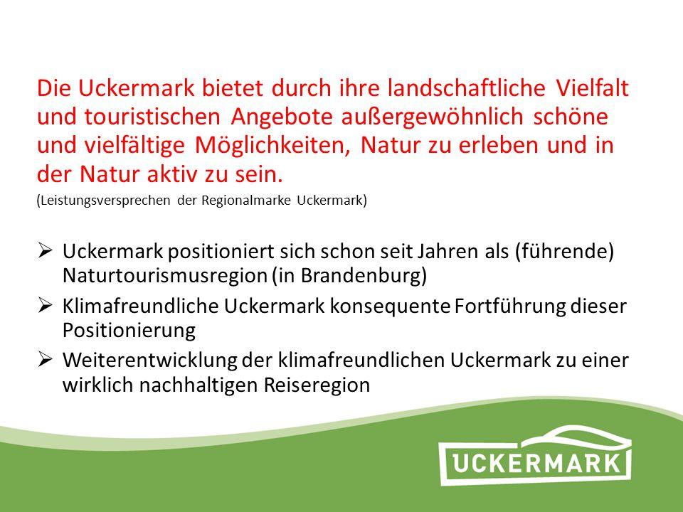 Die Uckermark bietet durch ihre landschaftliche Vielfalt und touristischen Angebote außergewöhnlich schöne und vielfältige Möglichkeiten, Natur zu erleben und in der Natur aktiv zu sein.