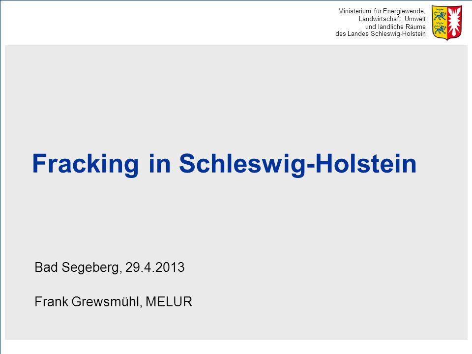 Fracking in Schleswig-Holstein