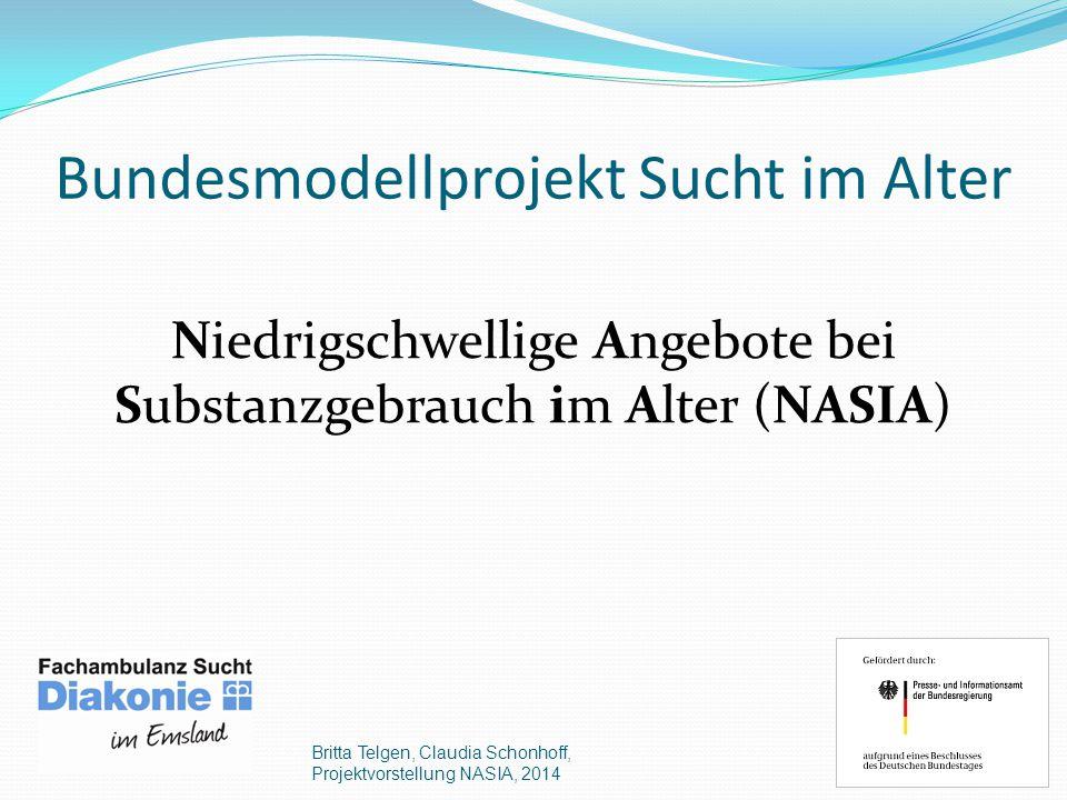 Bundesmodellprojekt Sucht im Alter
