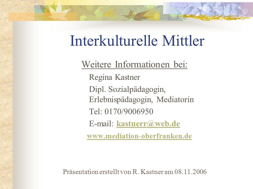 Interkulturelle Mittler