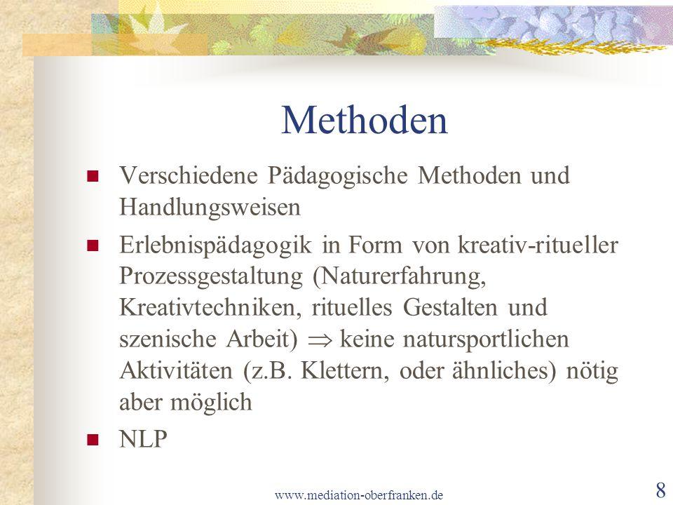 Methoden Verschiedene Pädagogische Methoden und Handlungsweisen