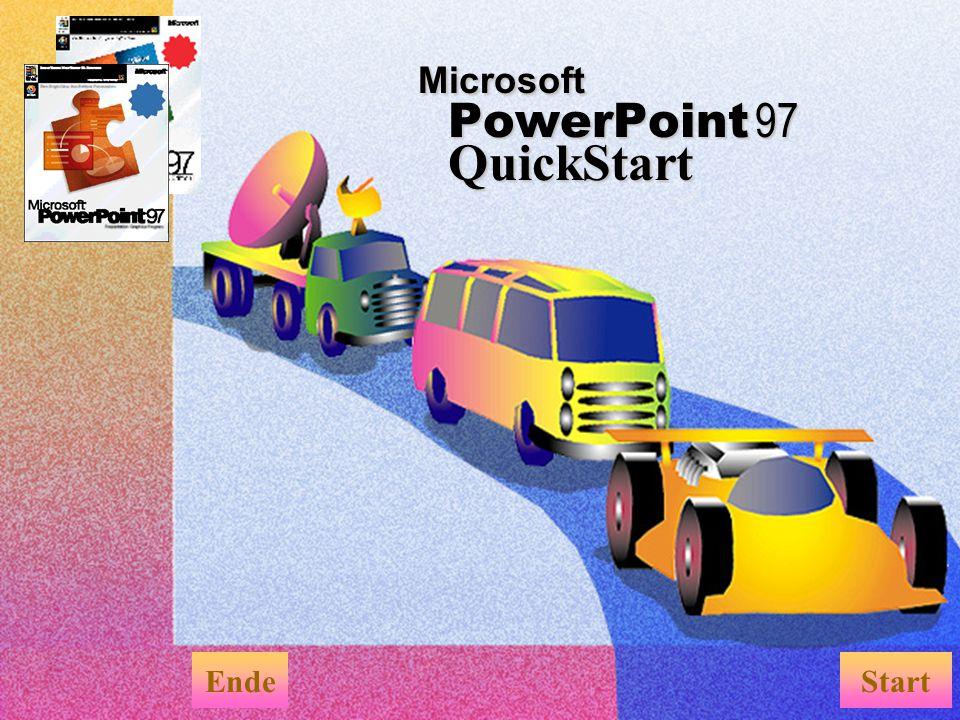 Microsoft PowerPoint 97 QuickStart