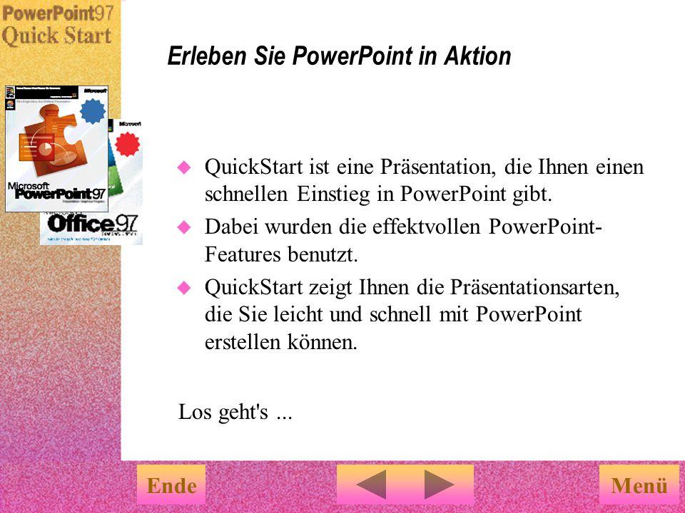 Erleben Sie PowerPoint in Aktion