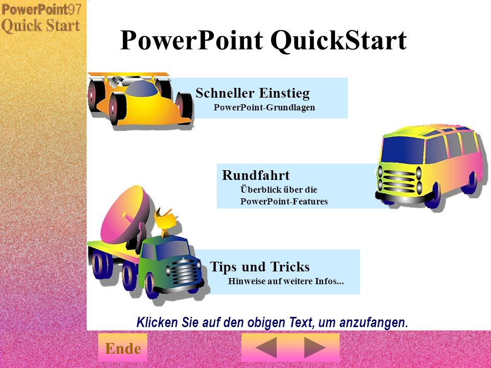 PowerPoint QuickStart