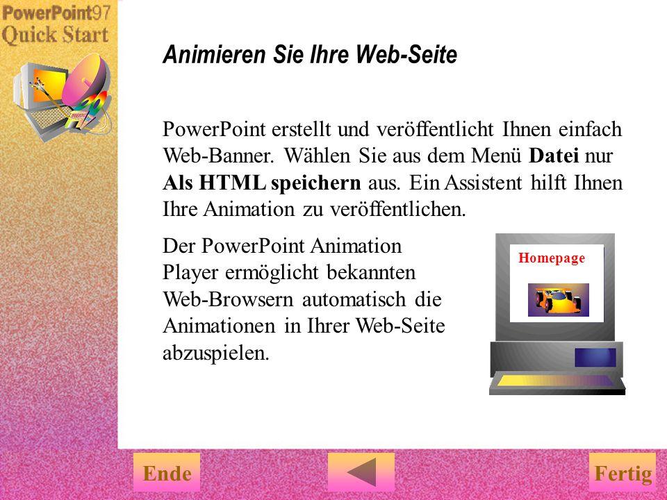 Animieren Sie Ihre Web-Seite