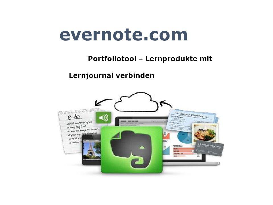 Portfoliotool – Lernprodukte mit Lernjournal verbinden