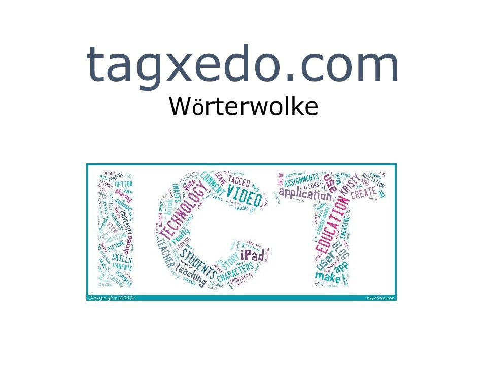 tagxedo.com Wörterwolke