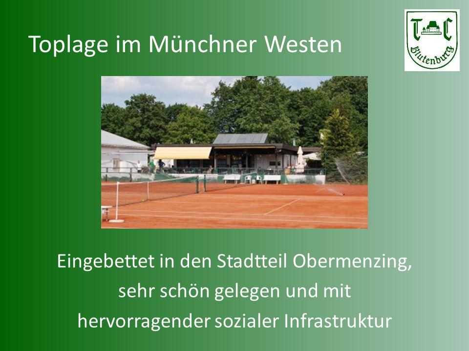 Toplage im Münchner Westen