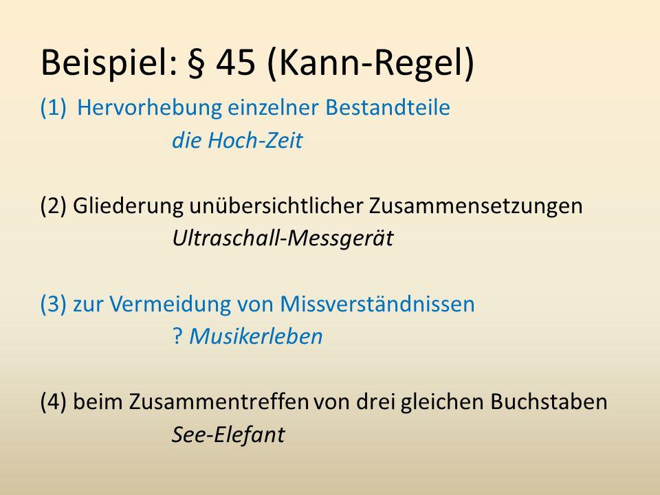 Beispiel: § 45 (Kann-Regel)
