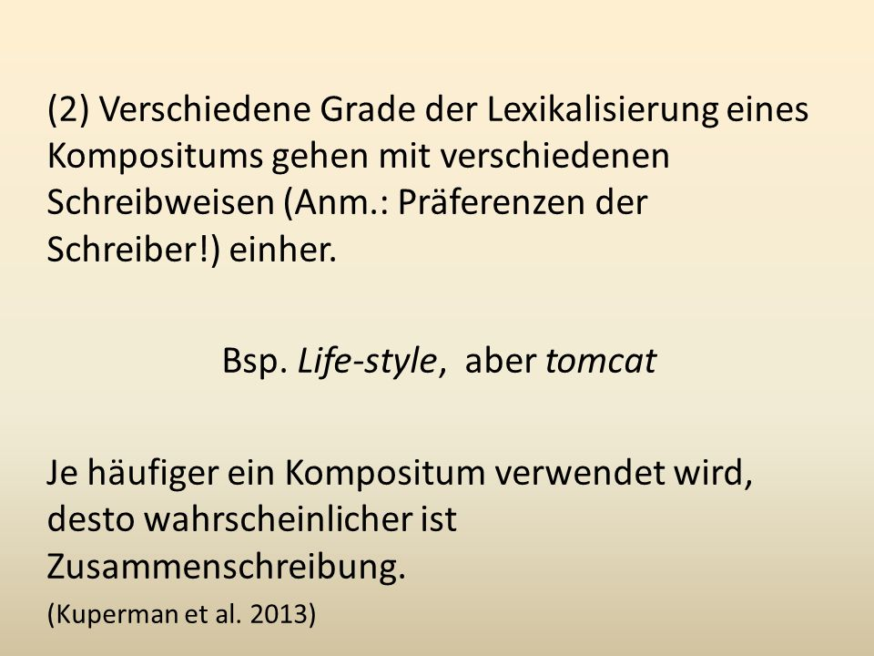 Bsp. Life-style, aber tomcat