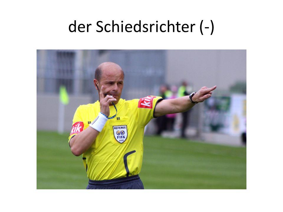 der Schiedsrichter (-)