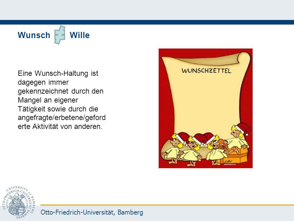 Wunsch Wille