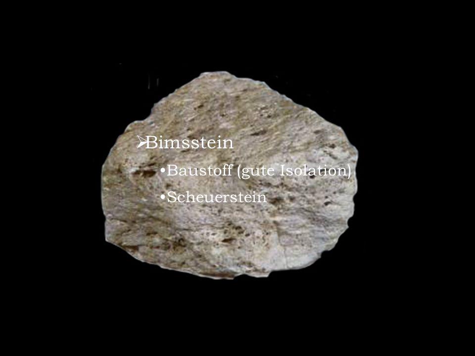 Bimsstein Baustoff (gute Isolation) Scheuerstein