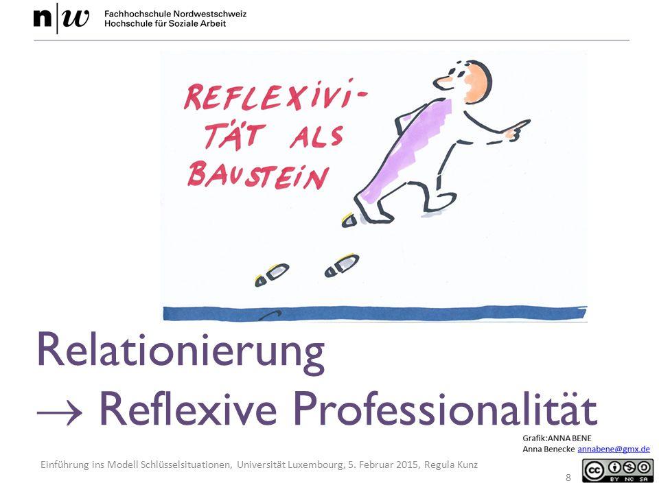  Reflexive Professionalität