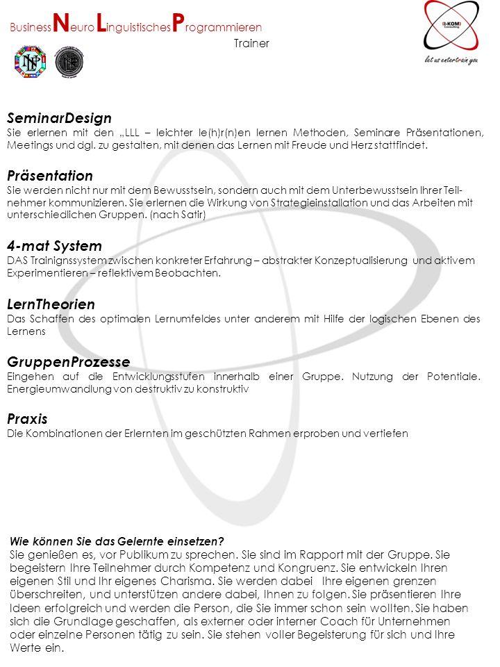 SeminarDesign Präsentation 4-mat System LernTheorien GruppenProzesse