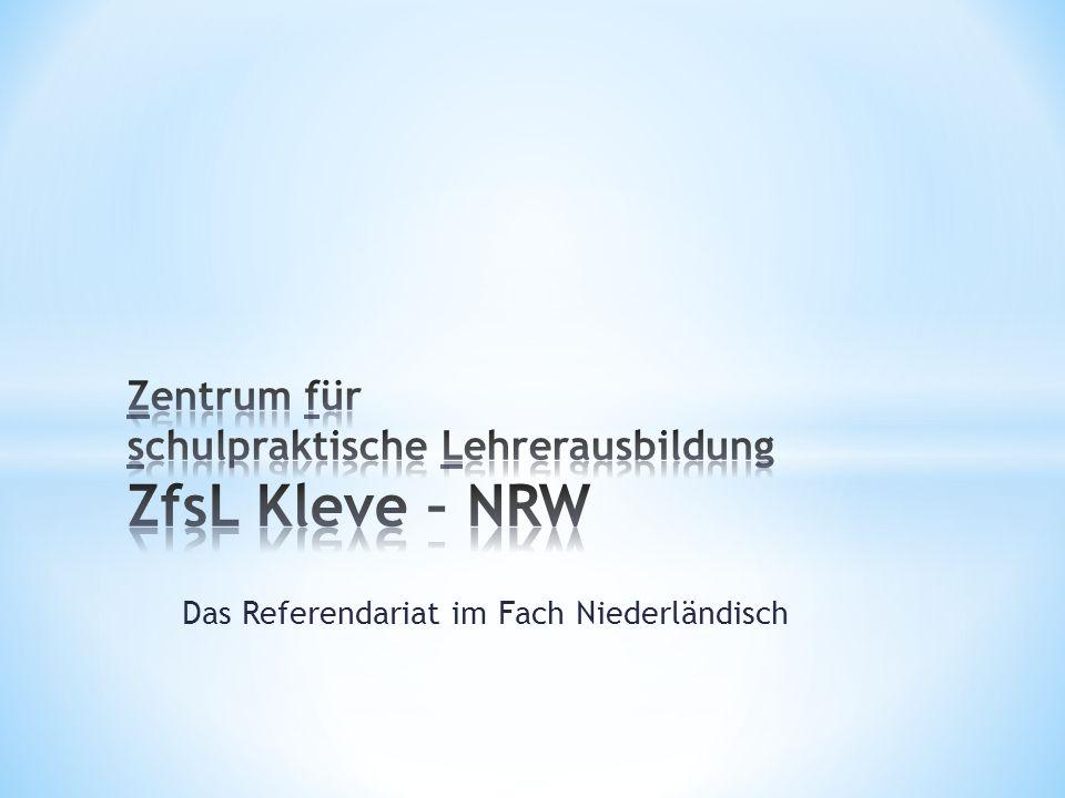 Zentrum für schulpraktische Lehrerausbildung ZfsL Kleve – NRW